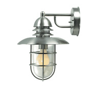Lite Source Ls-1468sts Lamppost Outdoor Wall Light Stainless Steel