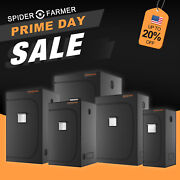 Spider Farmer Indoor Grow Tent Mylar Green Room 1680d Oxford Hydroponic Plant