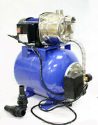1.6 Hp Shallow Well Garden Pump 1000gph W/booster System And Pressure Tank 1200w