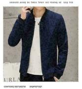 New Hot Men's Slim Fit Stand Collar Jackets Fashion Jacket Casual Coat Outwear