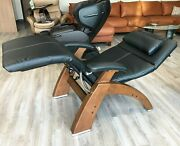 Pc-live Pc-420 Manual Human Touch Perfect Chair Recliner Black Premium Leather