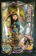 Cleolei Freaky Fusion Cleo De Nile And Toralei Monster High Doll 2013