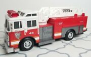 Tonka Firetruck Tkfd 46 With Ladder Makes Sound And Lights Flash Fire Engine 2011