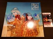 First Aid Kit Signed Stay Gold Autograph Vinyl Lp Record Jsa Coa Proof