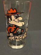 1970's Dudley Do-right Pepsi Glass