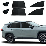 Fit For Toyota Rav4 19-21 Side Window Sunshade Black Camping Privacy Cover 6pcs