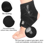 2 Pack Ankle Brace Support Compression Sleeves Adjustable Open Heel Foot Wrap