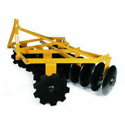 New Tarter Farm And Ranch 3-point 6and039 Medium-duty Tillage Disc 18 Blades-yellow