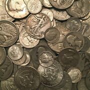 1 Face Value - 90 Silver U.s. Coins