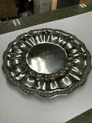 Antique Sterling Silver 800 German Tray