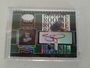 2004 Shawn Camp Leaf Certified Cuts Marble Emerald Autograph 295 5/5 Kc Royals