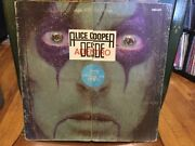 Alice Cooper From The Inside-rare Mexican 1978 Vinyl Spanish Trucking List-lp