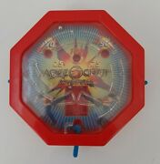 Wendy's Toy Jackie Chan Adventures Pinball Game 2002 Red Toy