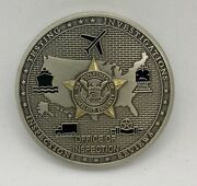 Tsa Office Of Inspection Transportation Security Administration Challenge Coin