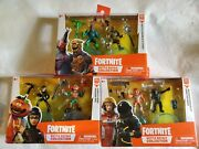 3 Fortnite Battle Royale Collection Hound Voyager Flytrap Shadow Tomato Toy Lot