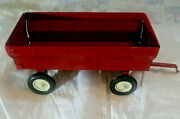 Vintage Ertl Steel Barge Wagon 1/16 Scale Used From The 1970and039s 2871