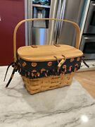 Longaberger Small Purse Basket With Classic Stain 1998 Pre-owned