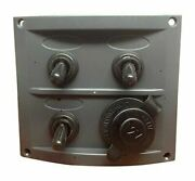 Pactrade Marine Boat 3 Gang Waterproof Switch Panel With Cigarette Socket