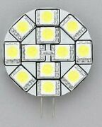 Rv Car Part Replacement Led Bulb G4 Type Warm White Side Pin 1.2 Diameter