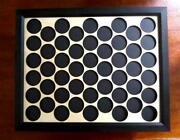 50 Poker Chip Display 11x14 For Harley Davidson Or Casino Chips