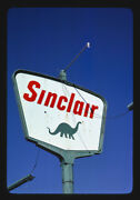 Photo Of Sinclair Gas Sign Rt. 2 Lake Arthur New Mexico 1979 C5