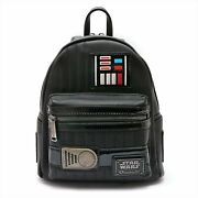 Loungefly Star Wars Collab Darth Vader Mini Backpack Black From Japan