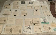 Lot Of 28 Charles Atlas Items Including 2 Rare Photos And 15 Autographed Letters