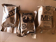 Mre Meal 4 8 And 9 Spaghetti Meatballs Beef Stew