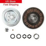For 80cc 2-stroke Gas Motorized Bicycle Complete Clutch Bevel Wheel Assembly Us