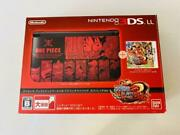 Nintendo 3ds Ll Unlimited World Adventure Pack Luffy Red Ver One Piece Game Soft