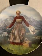 Edwin Knowles The Sound Of Music Plates Vintage New In The Original Box 1986