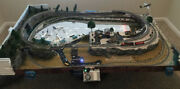 N Scale Train Layout 72 X 48 Fully Functional Lit Up And Sounds