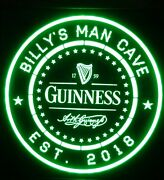 Guinness Beer Led Sign Personalized Home Bar Pub Sign Lighted Sign