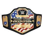 Official Wwe Authentic United States Championship Replica Title Belt 2014