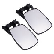 2x Car Adjustable Extension Clip On Trailer Towing Side Mirror Rv Safe Hauling