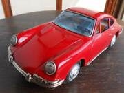 Bandaiya Bc Bandai Porsche 911 Narrow Large Tin Toy Vintage From Japan