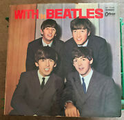 Original 1964 With The Beatles Stereo Odeon Black Wax Gate-fold W/photos Vg++
