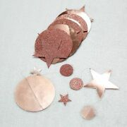 Twinkle Star Paper Hanging Garland Christmas Ornaments For Home 4m Decorations