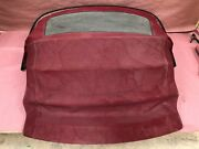 Red Convertible Top Cover Mechanism Frame Complete Rare 97201 Bmw Z3 E36 Oem
