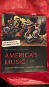 An Introduction To Americaand039s Music By Larry Hamberlin And Richard Crawford...