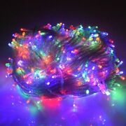 Christmas Holiday Led Lights Outdoor 100m 50m 30m 20m 10m Decoration For Party