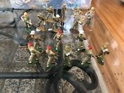 17 French Issue Toy Soldiers 60 Mm To 66 Mm Starlux Jim Michel Handpainted