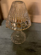 Partylite Astoria Lead Crystal Tealight Lamp 4 Pc Retired