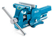 Woodward Fab 160mm Bench Vise 6-1/4in With Replacable Jaws Vh101160