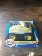 Plush Squeezable Rc Racer Dump Truck Soft Body Tires Power Remote Control 2c