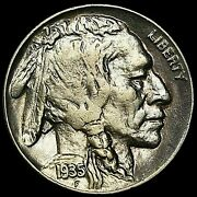 1935 Buffalo Nickel Type 2 Doubled Die Reverse Rare This Nice Bn104