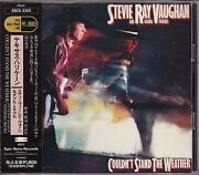 F/s Steve Ray Vaughan And Double Couldn't Stand The Weather Cd Obi Japan