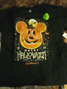 New Disney Parks 2018 Mickey's Not So Scary Halloween Party Glow T-shirt Xl