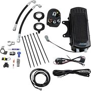Ultracool Smd-1g Oil Cooler And Fan Kit 3.0 Side Mount Harley Dyna 93-17