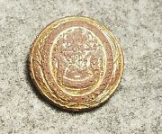 Civil War Federal Connecticut Button 23mm Ct 13 Excavated Stafford County Va
